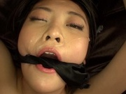 Harsh fuck for obedient Japanese Mai Mioriasian women, asian anal}