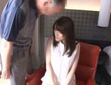 Naughty Japanese model Ayu Sakurai gets fingered hard