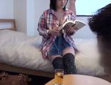 Busty Japanese AV girl with big ass likes deep penetration picture 3
