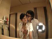 Sweet Ai Wakana gets fucked in bathroom by husband