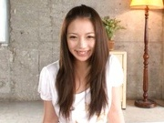 Mako Oda Asian doll getsd her hairy snatch licked