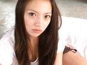 Mako Oda Asian doll getsd her hairy snatch licked