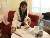 Delicious Japanese teen model Azumi Kinoshita likes banging picture 1