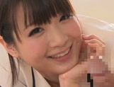 Cumshot fever of a horny Asian Mayu Kamiya picture 14