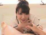 Cumshot fever of a horny Asian Mayu Kamiya picture 6