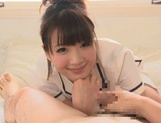 Cumshot fever of a horny Asian Mayu Kamiya picture 8