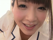 Cumshot fever of a horny Asian Mayu Kamiya