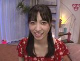 Kinky Japanese teen girl Moka Sakue is banged really hard picture 2