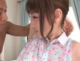 Sensual doll Karin Aizawa enjoys an amazing fuck