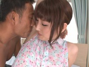 Sensual doll Karin Aizawa enjoys an amazing fuck