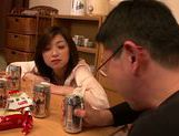 Japanese milf gets wild and horny on date picture 11