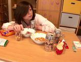 Japanese milf gets wild and horny on date picture 15
