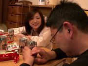Japanese milf gets wild and horny on date