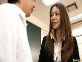 Junna Aoki Hot Asian teacher gets hardcore fucking