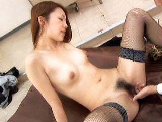 Junna Aoki Hot Asian teacher gets hardcore fucking