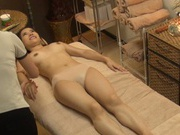 Sexy girl gets massaged and fucked incredibly hard in a beauty salon