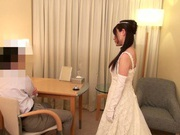 Sexy bride goes nasty for the last time