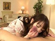 Adorable japanese teen Koharu Suzuki likes to fuck