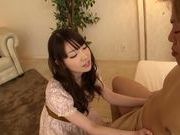 Adorable japanese teen Koharu Suzuki likes to fuck
