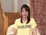 Very sexy Asian AV teen Suzuki Kokoba enjoys masturbation