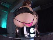 Alluring AV model Kaede Fuyutsuki rides big sex toy
