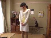 Hardcore pussy drilling of Japanese teen Miku Sunohara