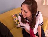 Asian milf Julia amazes with her soft lips