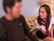 Asian milf Julia amazes with her soft lips