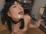 Sexy asian Kana Yume pleases two horny studshorny asian, hot asian pussy}