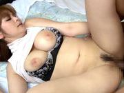 Pretty Japanese AV model Ramu Hoshino gets pounded hardasian ass, japanese pussy}