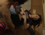Fancy Japanese teen Tsuna Nakamura experiences tough rear banging picture 6