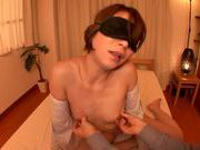 Skinny AV model Tamaki Nakaoka is fingered and screwed