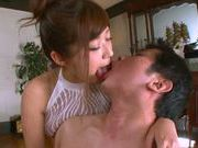 Satou Haruka sexy Asian babe gets a hard fucking