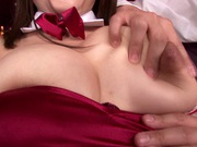 Dick riding started by hot Rion Nishikawa