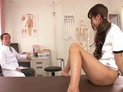 Cock sucking performed by hot teen Mizuki Hinanohorny asian, asian schoolgirl}