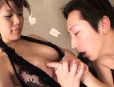 Wild and nasty Maika Sakurasaki pleases horny male picture 12