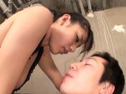 Wild and nasty Maika Sakurasaki pleases horny male