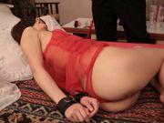 Skinny Asian bondage lover Nanami Kawakami is fucked hard