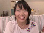 Alluring Japanese teen Miyu Saki in hardcore group action