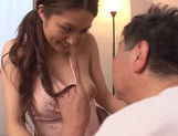 Mouthwatering milf Rina Fujimoto sucks her father-in-lawhot asian pussy, asian babe}
