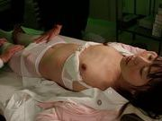 Lustful honey Tsubomi enjoys wild and hot gangbang action