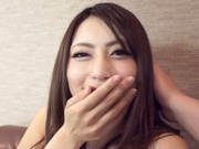 Japanese AV Model doggy-style fuck ends with cum in mouth