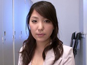 Curvaceous Japanese princess Kokoro Maki fucked from behind