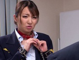 Busty Mio Takahashi gets wild in rough threesome scene