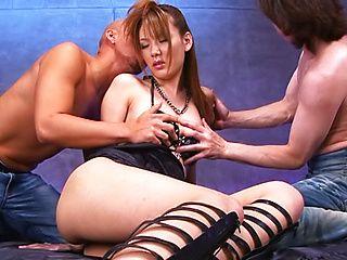 Yummy Asian bombshell Yuu Matsuyama in hot Japanese anal action