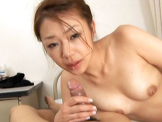 Sexy Milf Sakura Hirota Finds Pleasure at Both Ends