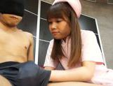 Naughty Teen Nurse Ria Mikotori Knows How To Stroke Cock picture 15