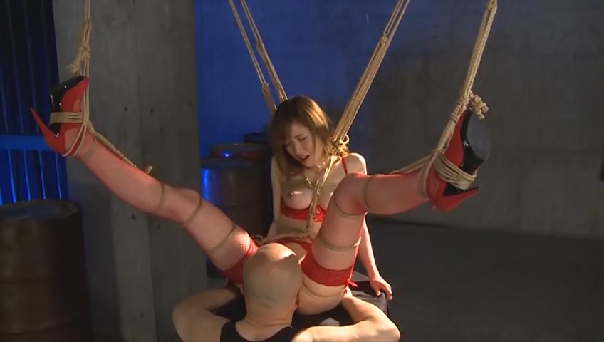 Nasty bondage porn along busty Yuna Hayashi