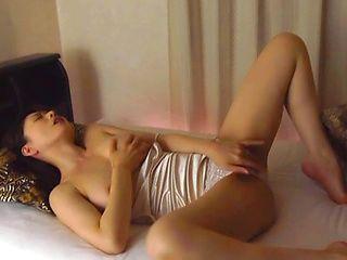 Horny amateur Eriko Miura loves having solo