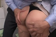 Pretty looking office lady Minori Hatsune gets attacked by horny bossbig asian boobs, hot tits, sex tits